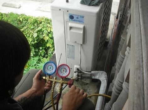 dáu hiệu máy lạnh bị hết gas