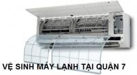 Dịch vụ vệ sinh máy lạnh quận 7