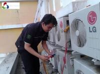 Nạp gas máy lạnh quận Tân Bình