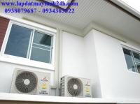 Lắp đặt máy lạnh tại quận Tân Phú