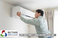 Lắp đặt - sửa chữa - vệ sinh máy lạnh huyện Nhà Bè