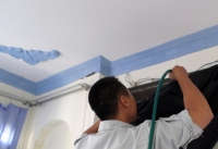 Vệ sinh máy lạnh đường Lạc Long Quân Tân Bình