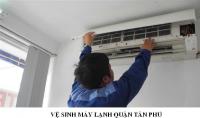 Dịch vụ vệ sinh máy lạnh tại nhà quận Tân Phú
