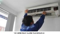 Dịch vụ vệ sinh máy lạnh tại nhà quận 12 uy tín